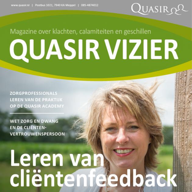 Quasir Vizier krant cover